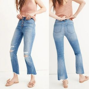 Madewell - Cali Demi-Boot Jeans size 26